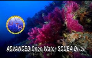 Corso sub Advanced Open Water scuba diver ai Castelli Romani